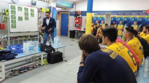 THE IMPORTANCE OF THE COACH'S TEAM TALK