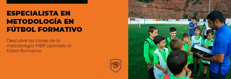 09. BANNER METODOLOGIA FUTBOL BASE Los estilos de enseñanza del entrenador de fútbol formativo MBP