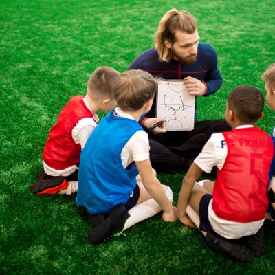 Los estilos de enseñanza del entrenador de fútbol formativo